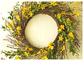 Spring Twig Wreath