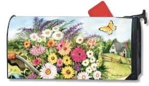 Field Bouquet Floral Mailbox Cover