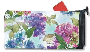 Hydrangea Floral Mailbox Cover