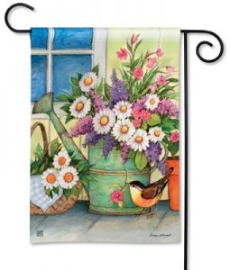 Porch Bouquet Bird Garden Flag