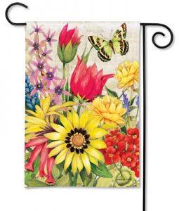 Floral Garden Flag