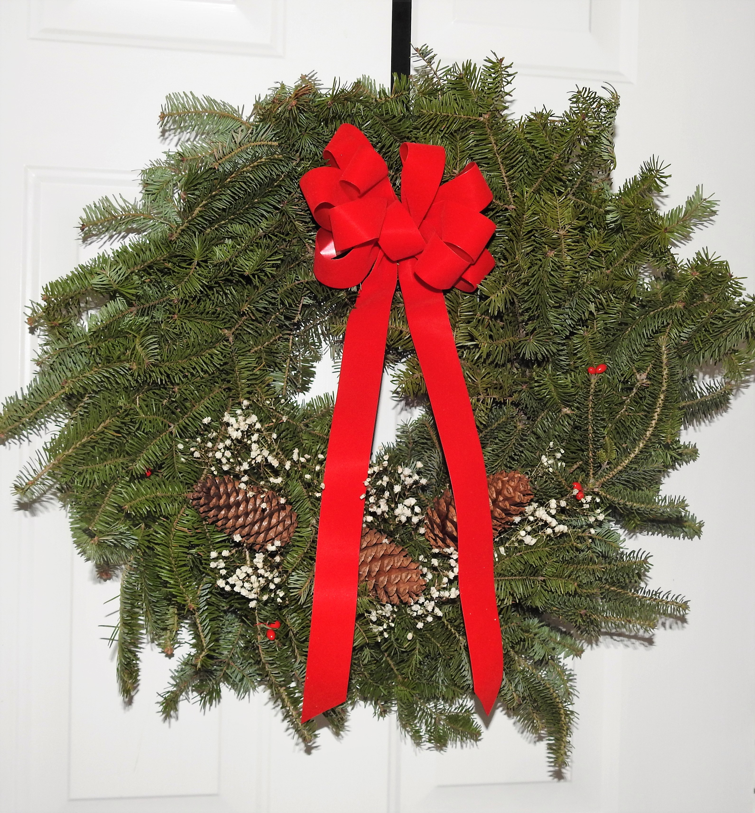 Made-in-Maine Balsam Wreath