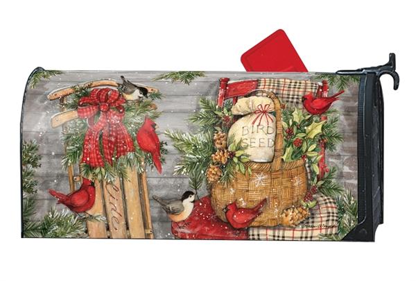 Christmas Mailbox Covers.Porch Christmas Mailbox Cover